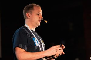 Speaker Marcus Biel at JPoint Moscow