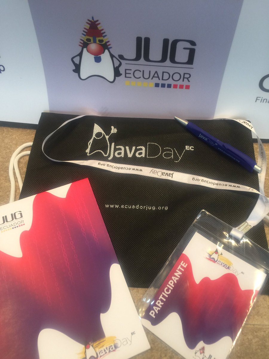 Java Day Quito Swag