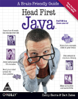 Head First Java – Kathy Sierra and Bert Bates